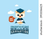 congratulations on your... | Shutterstock .eps vector #393336625