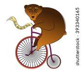 vector cartoon illustration ... | Shutterstock .eps vector #393340165