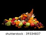 Fall Arrangement Of Fruits And...
