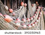 Part Of An Old Fishing Net