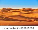 Sand Dunes In The Sahara Desert ...