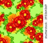 abstract elegance seamless... | Shutterstock .eps vector #393364369