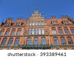Stock photo old town hall altes rathaus in hannover germany 393389461