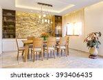 classic dining room | Shutterstock . vector #393406435