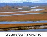 Yellow River Winding Through...