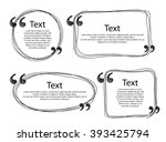 quote frames templates set...