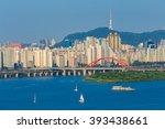 Seoul City And Hangang River I...