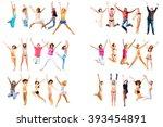over white team achievement  | Shutterstock . vector #393454891