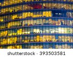 business office building in... | Shutterstock . vector #393503581