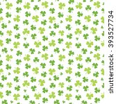 seamless irish background... | Shutterstock .eps vector #393527734
