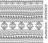 boho style seamless pattern... | Shutterstock .eps vector #393540619