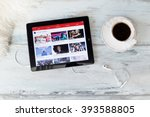 riga  latvia   february 17 ... | Shutterstock . vector #393588805