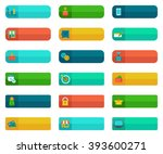 vector donate and buying... | Shutterstock .eps vector #393600271