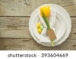 Easter Table Setting  Rustic...