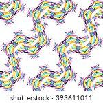 kaleidoscope flower pattern....