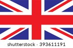 uk flag | Shutterstock .eps vector #393611191