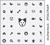 Simple Animals Icons Set....