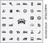 simple auto icons set....