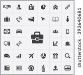 simple corporate icons set....
