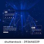 vector digital technology... | Shutterstock .eps vector #393646039