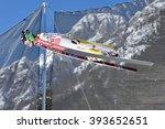planica  slovenia   march 17... | Shutterstock . vector #393652651