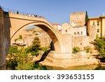 Old Bridge Of Mostar  Bosnia...