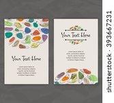 set of vector design templates. ... | Shutterstock .eps vector #393667231