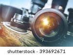 professional photography... | Shutterstock . vector #393692671