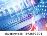 Постер, плакат: American Banking Concept American