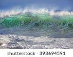 beautiful semitransparent...   Shutterstock . vector #393694591