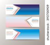 set of modern design banners... | Shutterstock .eps vector #393700909