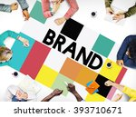 brand branding marketing... | Shutterstock . vector #393710671