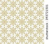 seamless oriental pattern. | Shutterstock .eps vector #393721501