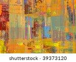 handmade abstract texture   Shutterstock . vector #39373120
