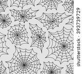 spider's web seamless...   Shutterstock .eps vector #393739729