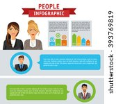 people infographic design | Shutterstock .eps vector #393769819