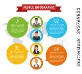 people infographic design | Shutterstock .eps vector #393769831