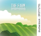 farm barn icon  vector... | Shutterstock .eps vector #393771751