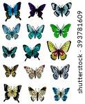 butterfly | Shutterstock . vector #393781609
