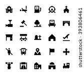 City Elements Vector Icons 4