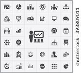 simple presentation icons set....