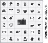 simple kitchen icons set....