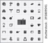 simple kitchen icons set....