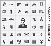 simple security icons set....