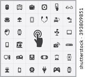 simple internet of things icons ...