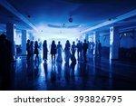 dance with guests in restaurants | Shutterstock . vector #393826795