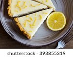 pieces of delicious homemade... | Shutterstock . vector #393855319