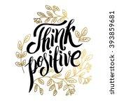 modern calligraphy... | Shutterstock .eps vector #393859681