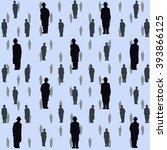 seamless illustration of... | Shutterstock .eps vector #393866125