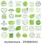 cruelty free  not tested on... | Shutterstock .eps vector #393884341